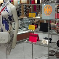 Tory Burch Dayglow Flourescent Logo Overview