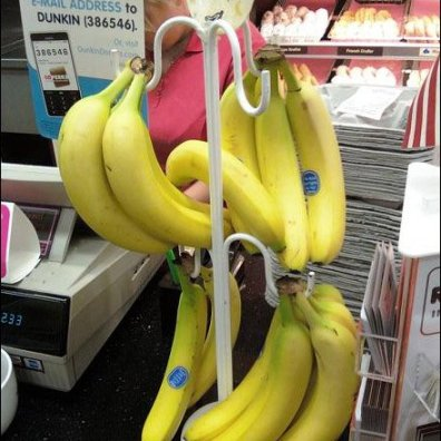 Dunkin Donuts Cashwrap Banana Rack