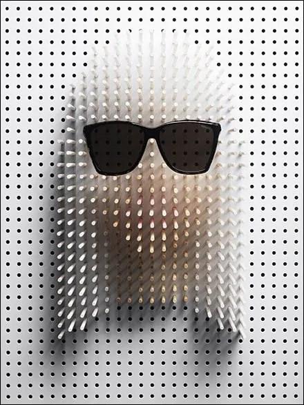Lady Gaga Sunglass Spokesmodel