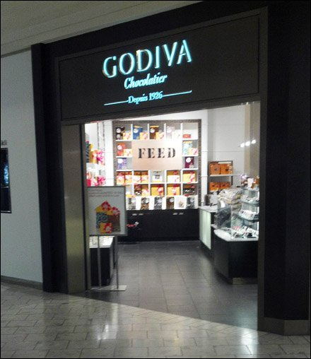 Godiva Tag Line Not For You