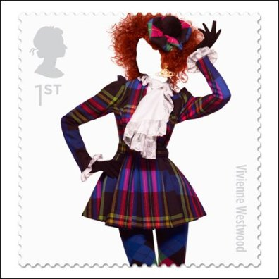 Vivienne Westwood great-british-fashion-stamp