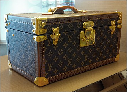 Vuitton Vintage Valise Store Exhibit