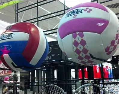 Balls on Slatwire Display Hooks Main