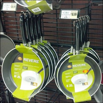 "Cookware 1"" Black Grid With Grid Scan Hooks"