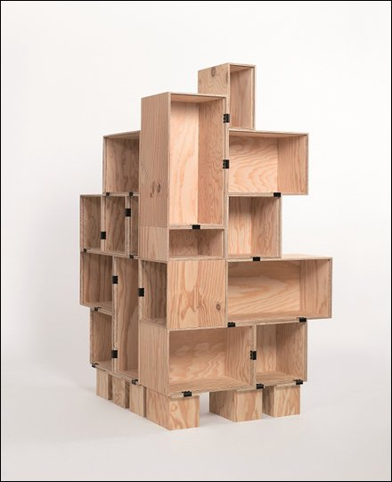 DIY Plywood Box Display Main