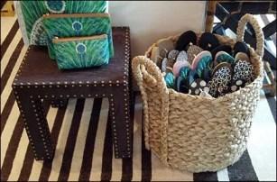 Flip Flops Sold By Wicker Basket