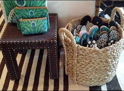 Flip Flops Sold By Wicker Basket