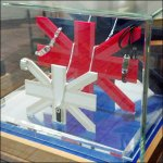 Union Jack Jewelry Museum Case Displays