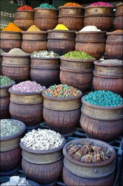 Spice Market Colors in Bulk Main