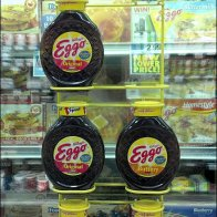 Eggo Syrup Over-Door Cooler Merchandiser