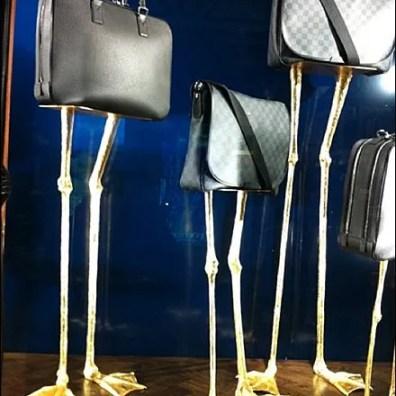 Louis Vuitton Bird Legs Bag Display