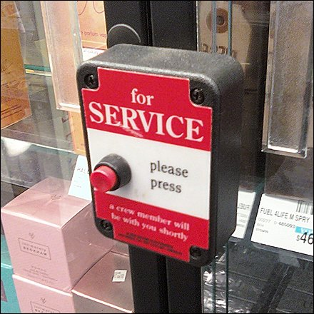 Call Button Store Fixtures