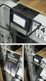Open Wire Pallet Rack Literature Holder