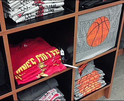 Styrofoam Blocks in T-Shirt Display Main