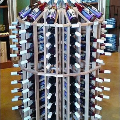 Circular Wine Bottle Island