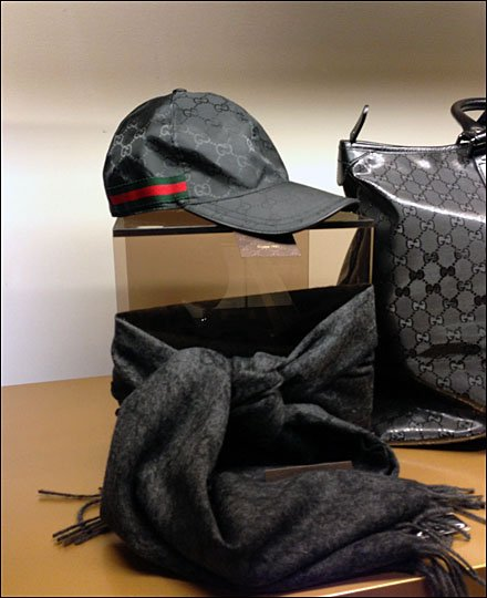 Gucci Gangsta Cap Display