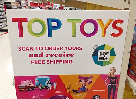 Target's Toy QR Campaign