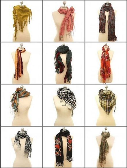 12 Trendy Scarf Ties for Winter