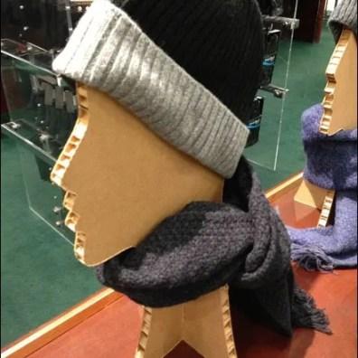 Corrugated Hat Headform Main