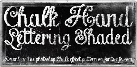 Chalk Hand Lettering MyFonts