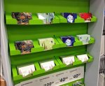 Corrugated Gift Card Holders Aux