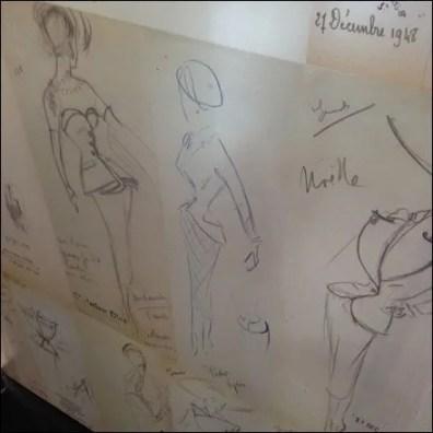 Dior Doodles Datestamped Square