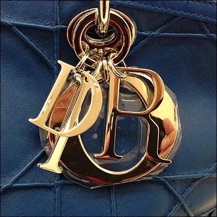 Dior Granville Purse Logo Charm