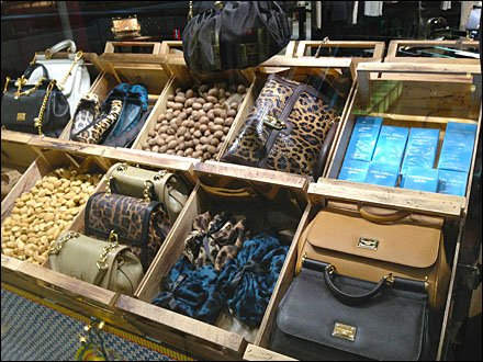 Dolce Gabbana as Fashion Grocery