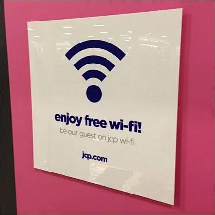 Enjoy Free Wi-Fi Main