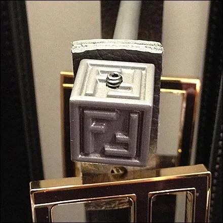 Fendi Finial Logos Closeup 2