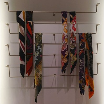 Ferragamo Scarf Bar Array Main