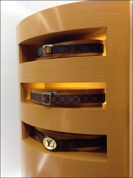 Two Belt Directions by Vuitton