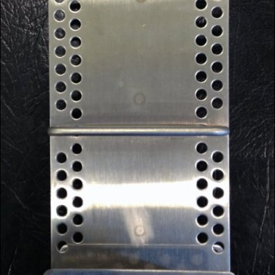 Metal Plate Literature Holder Front