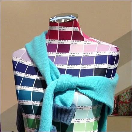 Pantone Dress Forms Close Ups
