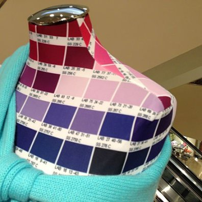 Pantone Dress Forms 2