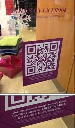Storefront QR Code and More QR + URL + TXT + FB + App