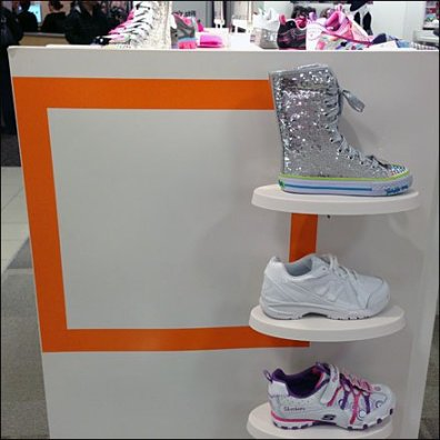 Subtle Square Branded Shoes 1