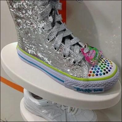 Subtle Square Branded Shoes 3