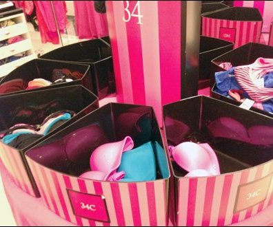 9 Lingerie Bins in a Circle Main