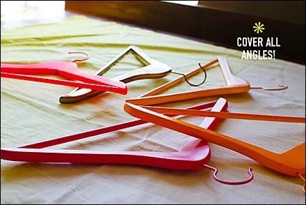 Dye or Wash Color Hanger Array?