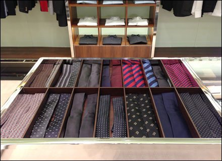 Neckties Two Up in Trays Main