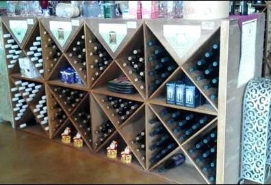 Wine Bottles in Diagonals Overall