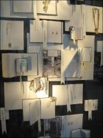 Blank Page Merchandising Canvas - bergdorf books window display overall