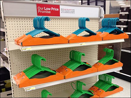 Clothes Hangers Dominate EndCap 1