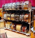 Drum Display Rack