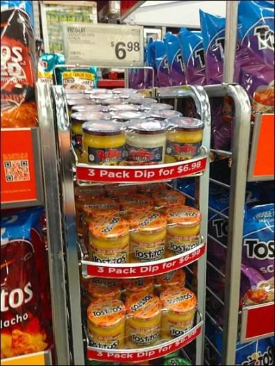 Gravity Feed Snack Aisle Salsa 2
