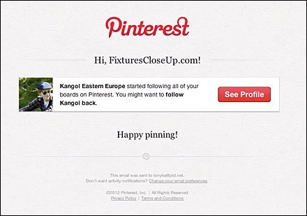 Kangol Eastern Europe started following you on Pinterest - tkadysewski@gmail.com - Gmail