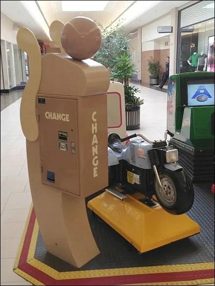 Transformer Mall Change Machine
