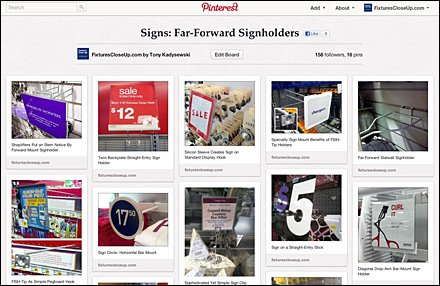 Signs Far-Forward Signholders
