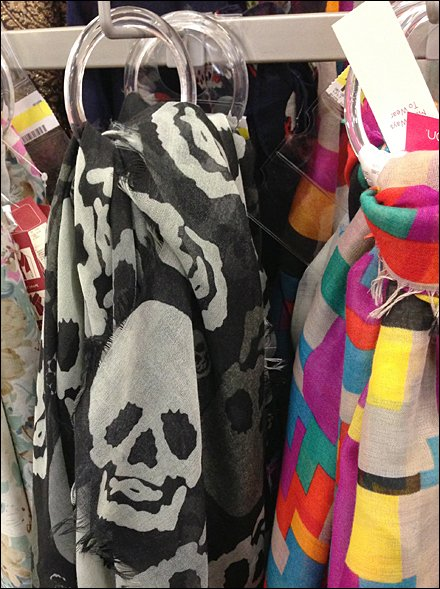 Skull Scarf Marketing CloseUp Equal Treatment for Goths
